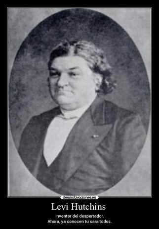 Résultat d'images pour invention de Levi Hutchins en 1787.