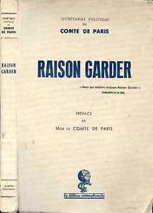 Bibliographie d'Henri, Comte de Paris (1908-1999)