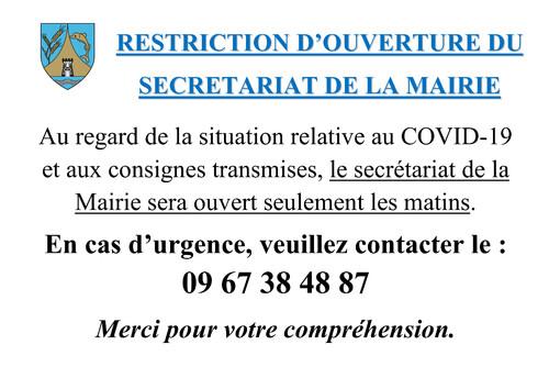 MAIRIE - INFORMATION