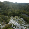 Descente du sommet de Murrutchipia vers le col de Couma Longa