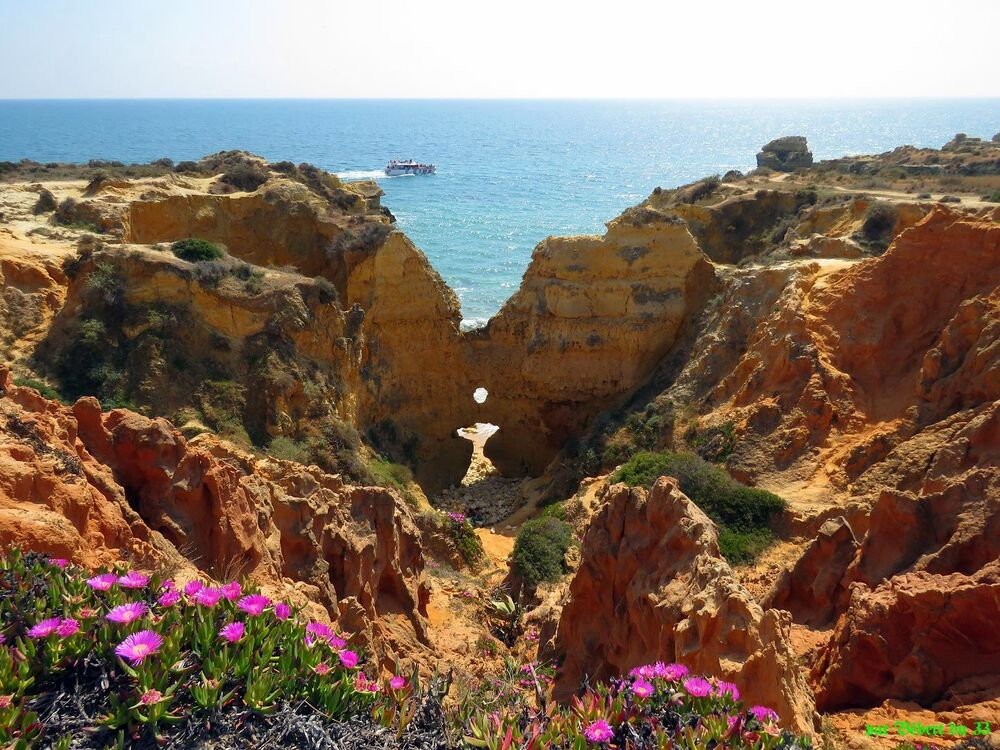 Praia dos Arrifes au Portugal -2