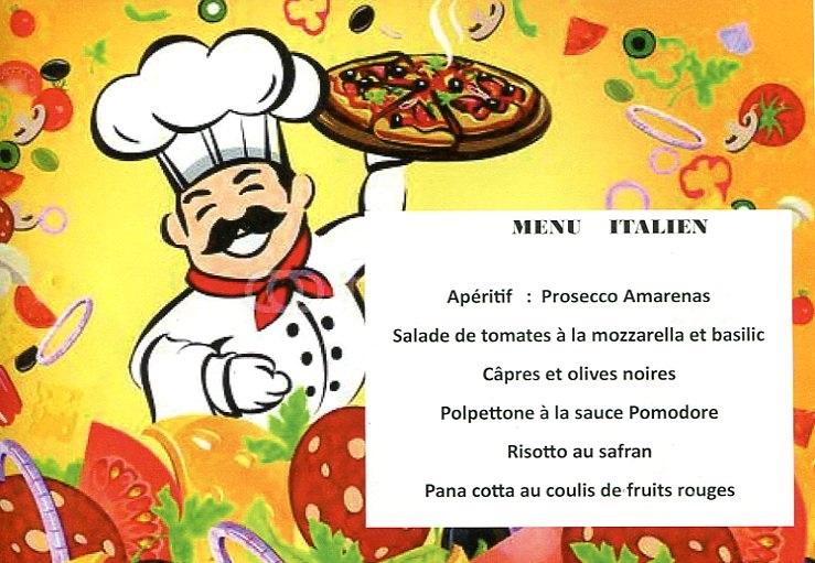 Beblenheim (68) : Repas italien