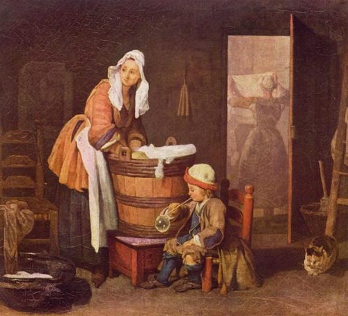 Les lavandières