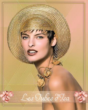 FAC0019 - Tube femme chapeau