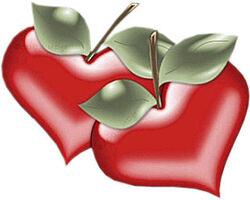 Cœur de cerises.