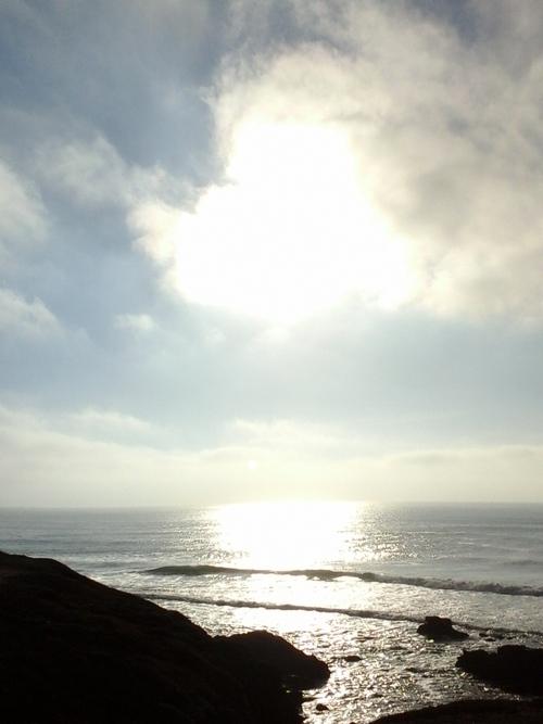 Quiberon (Morbihan) : L'Arche et le retour