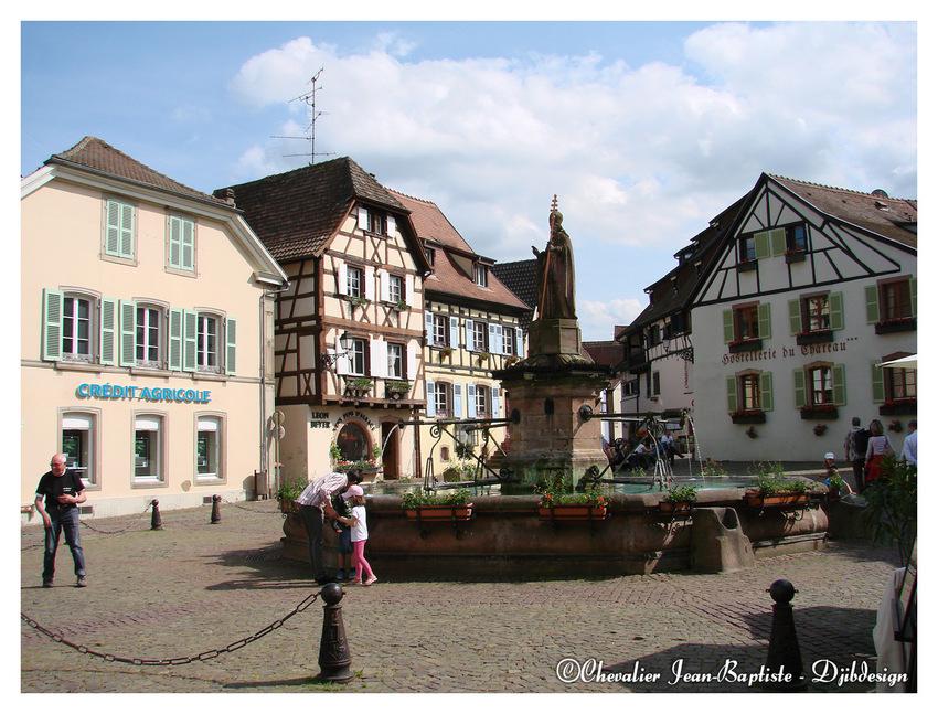 Fin de la balade en Alsace.