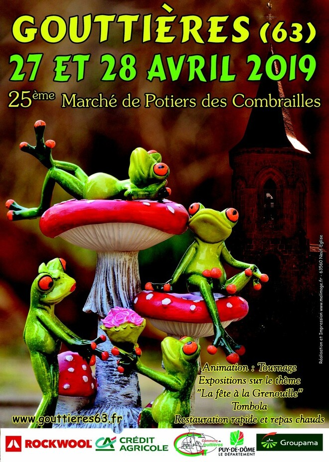 Marché de Potiers de Gouttières_Combrailles