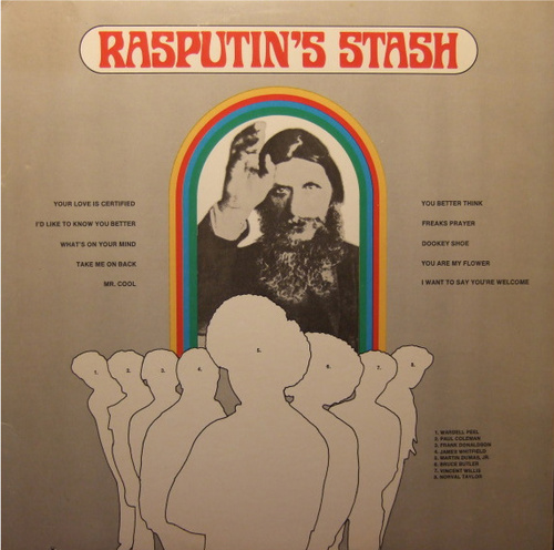 "Rasputin's Stash : Album "" Rasputin's Stash "" Cotillion SD 9046 [ US ]"