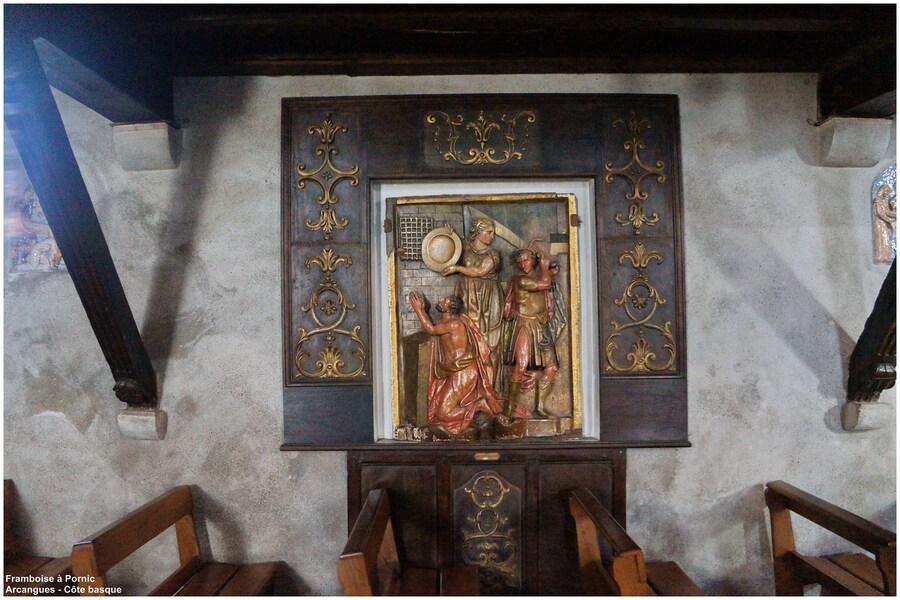 Arcangues - Détail chemin de croix