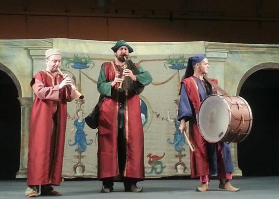 Curragh - Fêtes historiques - Concerts sur scène