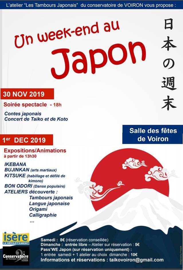 VOIRON - Un week-end au Japon