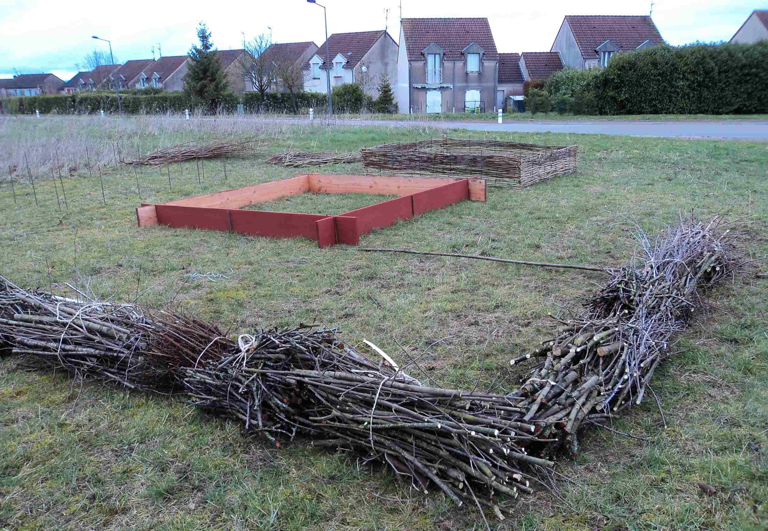 carrés à jardiner