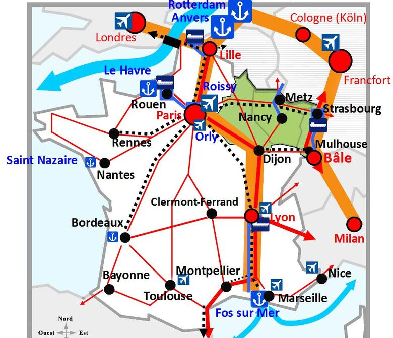Transport en France et en Europe
