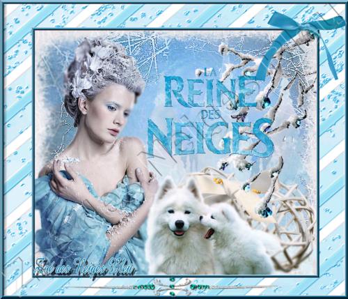 créa perso : la reine des neiges