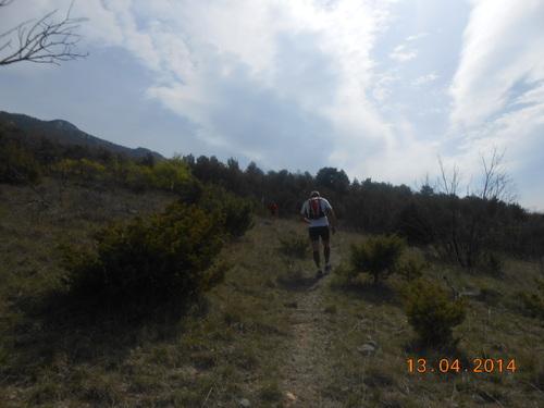 Trail de Drôme 39km +1800m positif