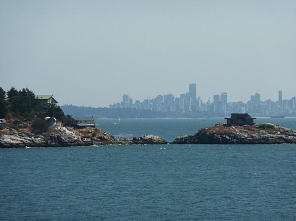 Jour 23 Ferry vue sur Vancouver
