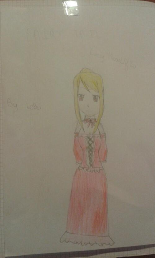 Dessin #14: Lucy Heartfilia (2)