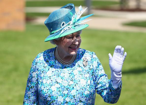 Elizabeth aux jeux du Commonwealth