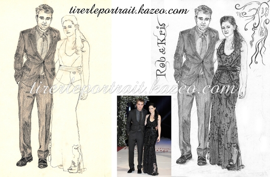 Robert Pattinson & Kristen Stewart par étapes