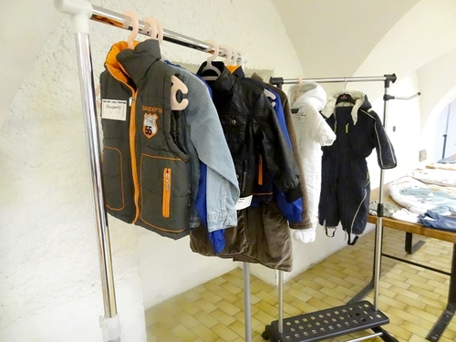 Bourse aux vêtements d'enfants et articles de puériculture organisée par le Zonta