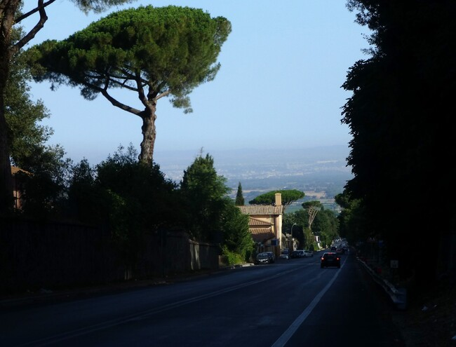 - Via Appia.