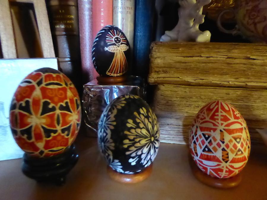 La fête de Pâques et mes oeufs!