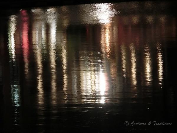 Honfleur, le bassin by night !