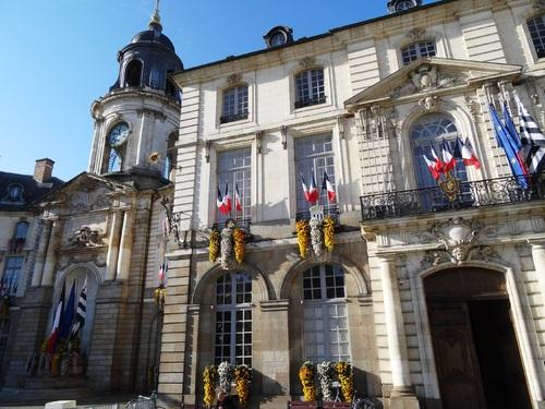 Rennes: autour de l'Hôtel de ville (photos)
