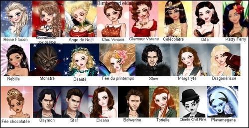 La liste des stars du boulevard !