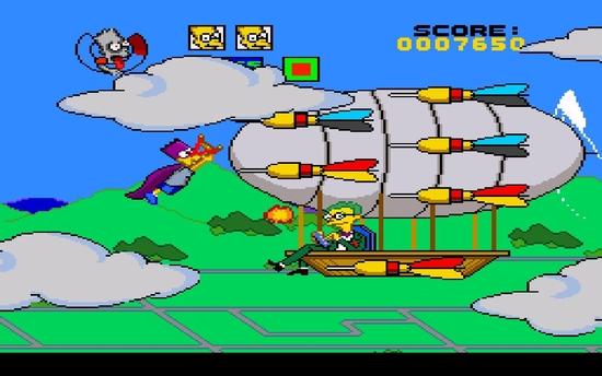 The Simpsons Bart's Nightmare sssssssssssss
