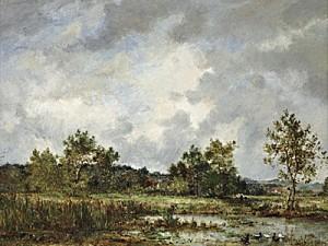 316 rousseau mare 1858