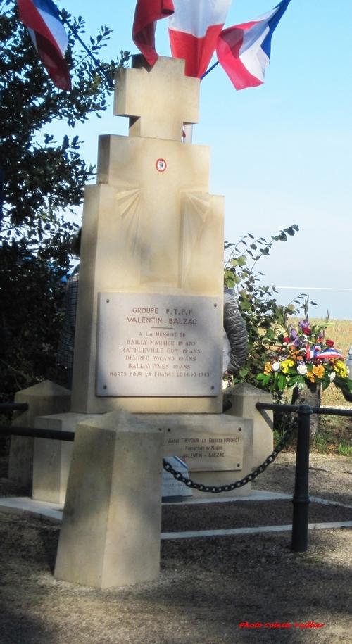 La cérémonie  2021, en mémoire des résistants tués à la ferme Sainte-Marie a été suivie pae René Drappier