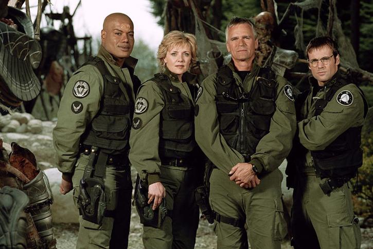 10 séries TV qui ont marqué mon enfance - Stagate SG1 - Magic Octopus blog