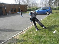Sport : drôles de lancers ...