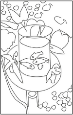 Coloriages d'oeuvres d'art