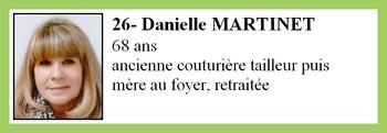 26- Danielle MARTINET