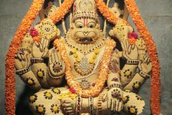 Narasimha, le Lion, symbole de l'Union indienne,