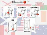 Positions en anglais  : Where are ... ? + TBI