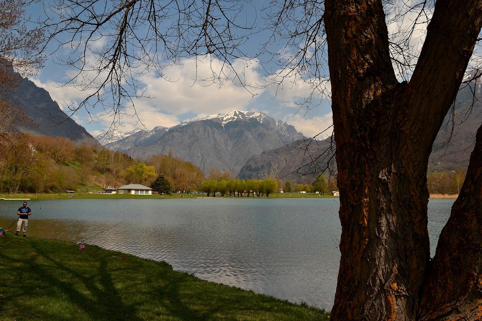 Favori 2014.04.13 Lac du Sautet, plan d'eau de Valbonnais (Isère - Rhône  RI18