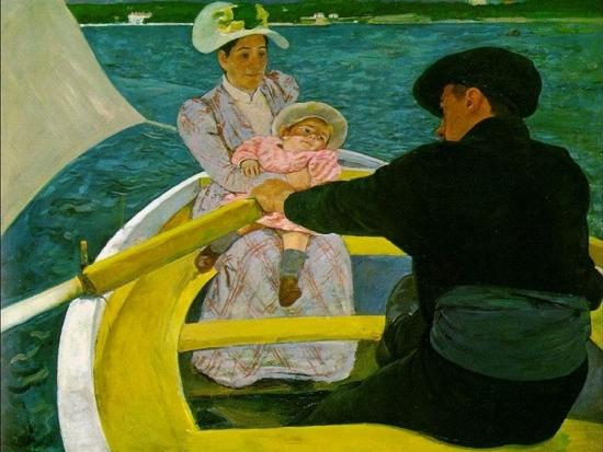 Mary Cassatt, La fête de canotage