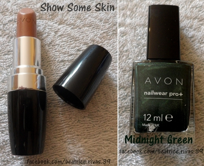 Show some Skin & Midnight Green