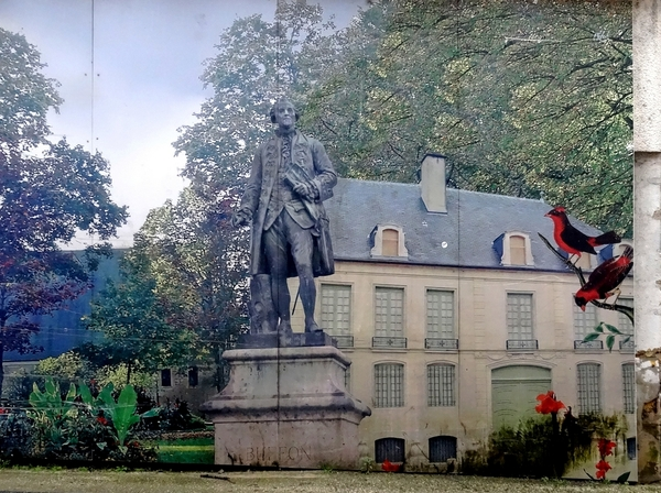 Petite bio illustrée de Georges Louis Leclerc, comte de Buffon...
