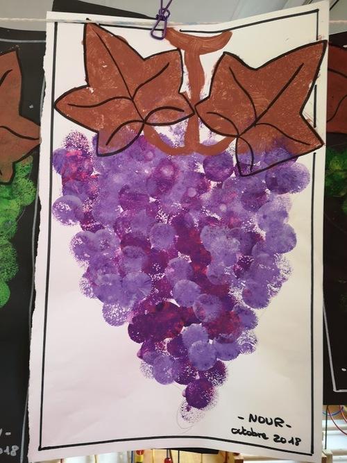 les grappes de raisin des PS de S.