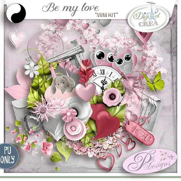 BE MY LOVE by Pli Designs