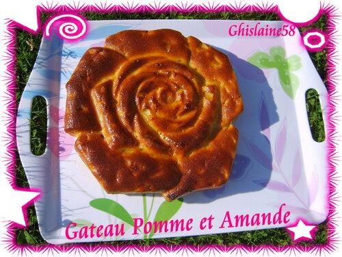 Gateau Pomme et Amande