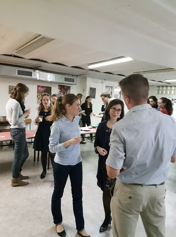 Rassemblement de jeunes bénévoles de Rocamadour à Paris