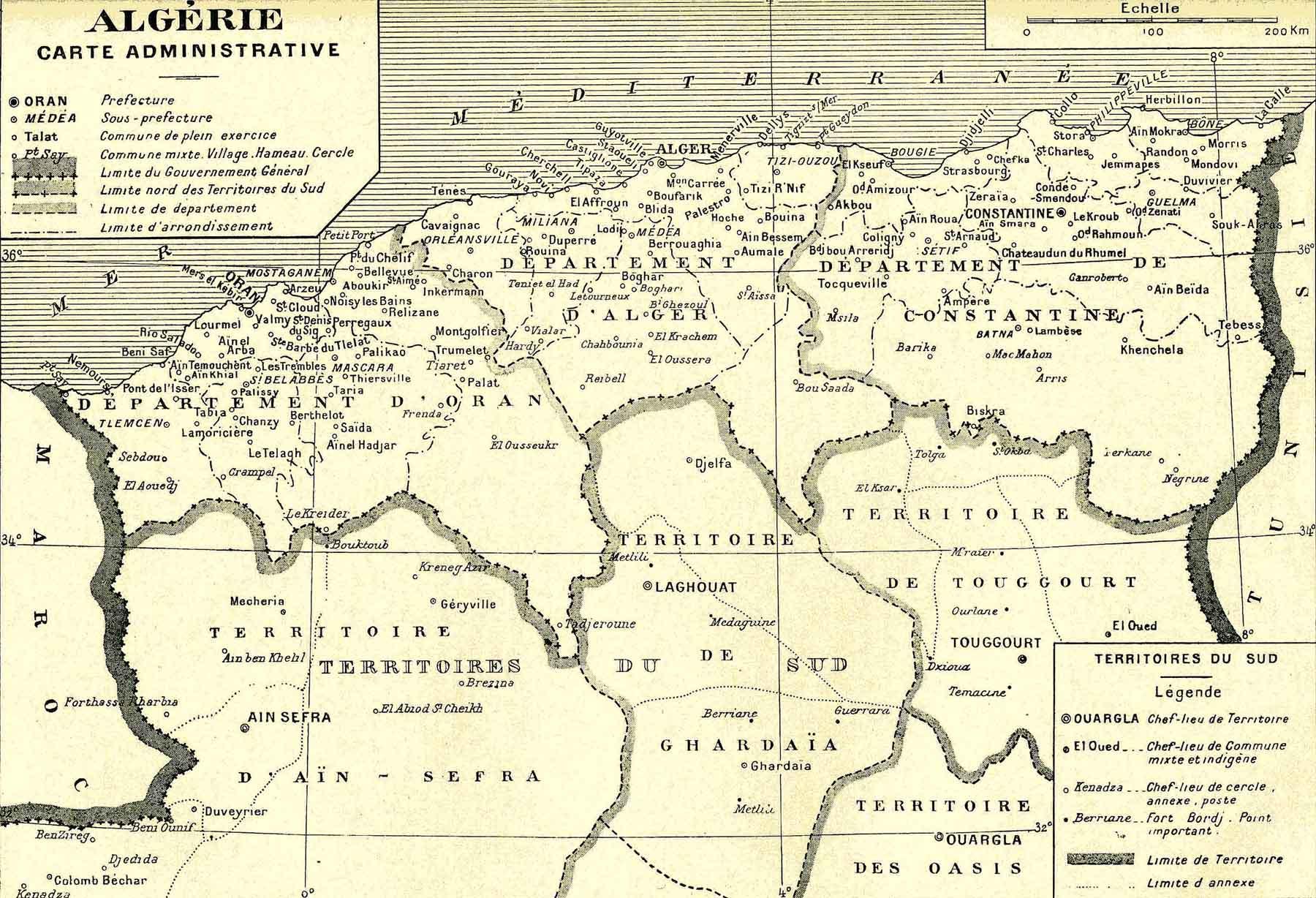 Carte Geographique De Lalgerie.Bienvenue C Etait La Bas L Algerie Mon Pays