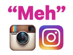 Le nouveau logo d'Instagram