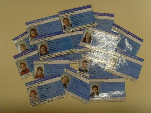 nos cartes d'identité